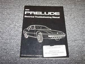 1991 Honda Prelude Electrical Troubleshooting Wiring