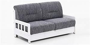 Schlafcouch Weiß Grau : schlafsofa campus grau wei stoff sofa couch massiv holz schlafcouch bettfunktion m ~ Markanthonyermac.com Haus und Dekorationen
