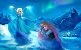 Anna and Elsa Frozen