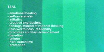 what does the color teal spiritual meaning of colors in captured wishes gift