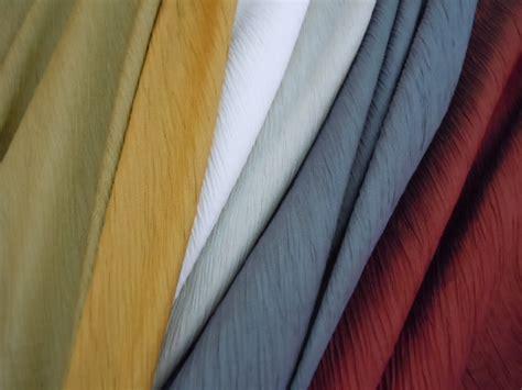 crinkle faux silk curtain drapery fabric from p kaufmann