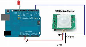 How To Build A Motion Sensor Light Circuit