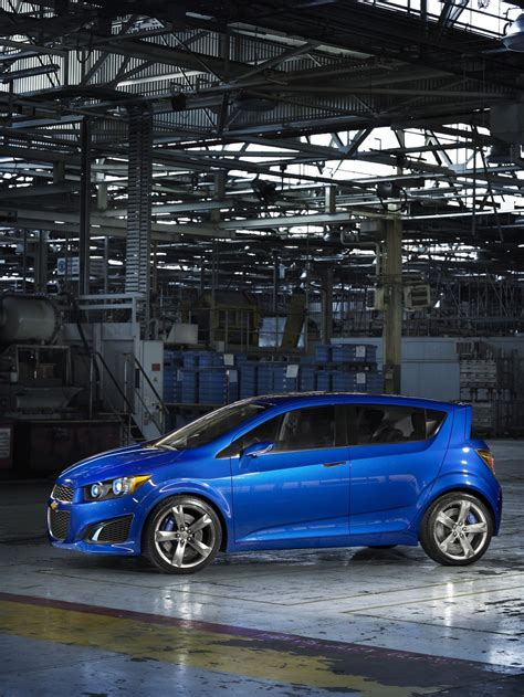 Naias Preview Chevrolet Aveo Rs Unleashed Autoevolution