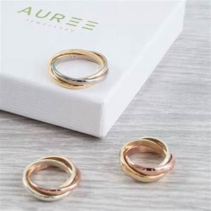 personalised walton 9ct gold russian wedding ring by auree With 3 in 1 wedding rings