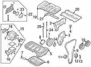 Mazda 626 Engine Timing Cover  Upper  Liter  Cylinder