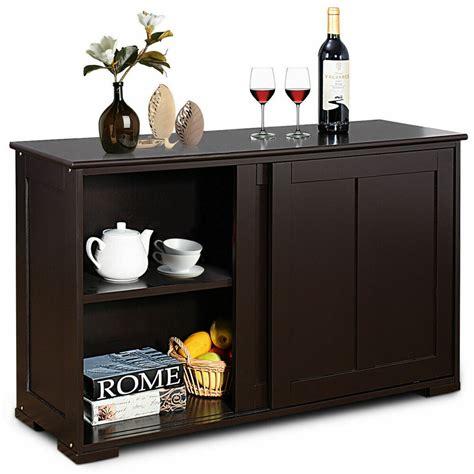 kitchen storage cabinet sideboard buffet cupboard wood