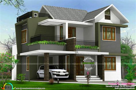 bhk floor plan  elevation   cent kerala home design  floor plans