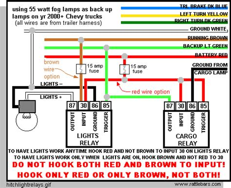 Trailer Wiring Diagram 2004 Chevy Silverado by Rear Aux Lights On Demand Or On W