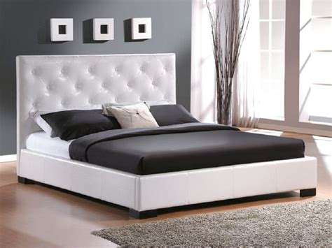 White Bed Frame And Mattress by Modern King Size Bed Frames Providing A Spacious Room For