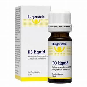 Vitamin D3 Berechnen : burgerstein d3 liquid nu3 ~ Themetempest.com Abrechnung