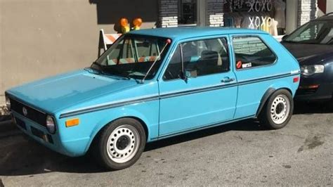 Volkswagen Cars For Sale by 1977 Volkswagen Rabbit For Sale Near Cadillac Michigan