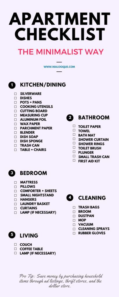 Bedroom Makeover Checklist by 17 Best Ideas About Apartment List On