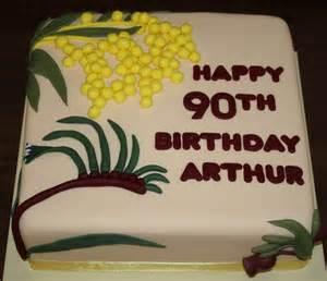 Happy 90th Birthday Cake