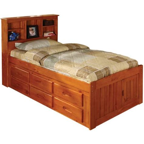 Bookcase Headboard With Drawers by American Furniture Classics Platform Bed With