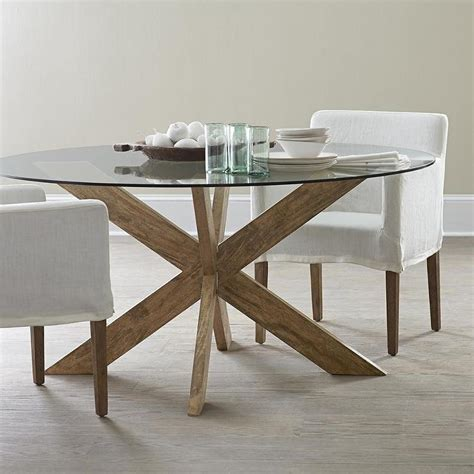 diy dining table base for glass top dining table bases for glass tops exquisite x base in