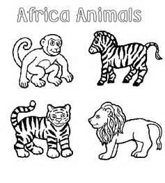 Zoo Animals Coloring Pages