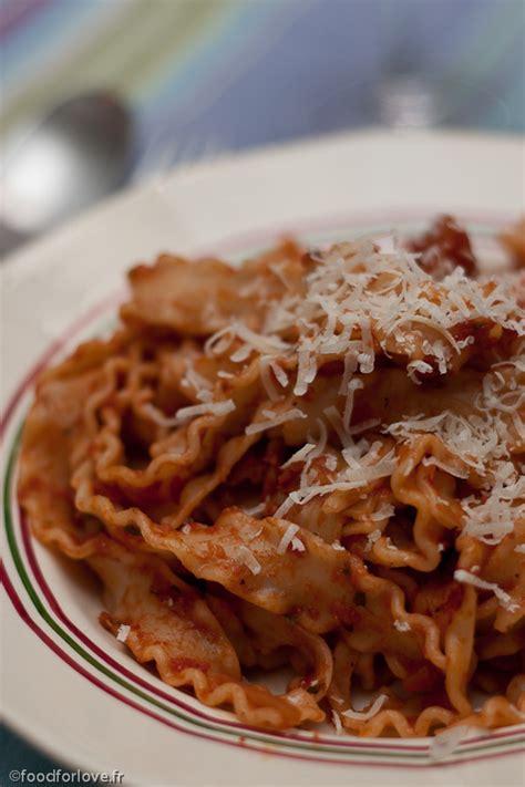 reginette napoletane 224 la putanesca blogs de cuisine