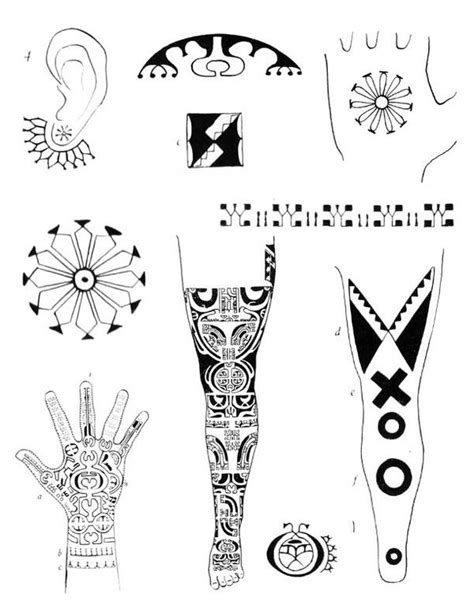 Tribal tattoo designs -DIGITAL - tattooflashcollective