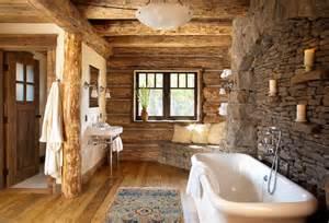 bad rustikal gestalten holz interior fürs badezimmer freshouse