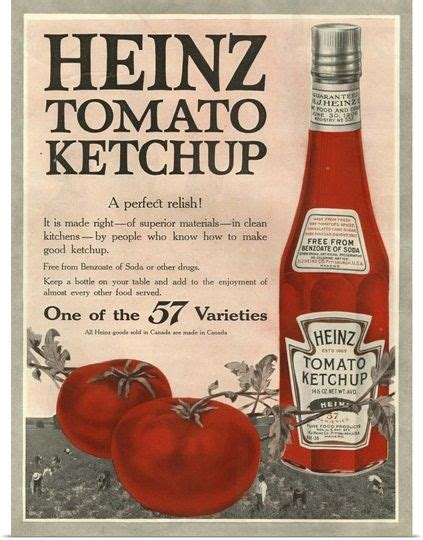 Heinz Tomato Ketchup | Vintage advertisements, Old ...