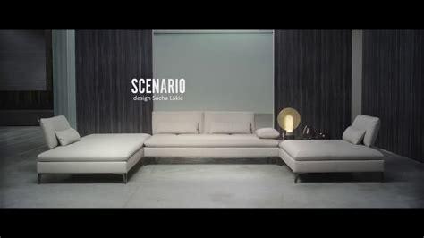 roche bobois canape scenario composition d 39 angle scenario design sacha lakic