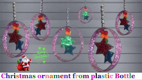 handmade christmas ornaments  plastic bottlechristmas