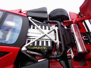 Pagani Zonda C12 1 18 Vermelha Motor Max  U2013 Totalcar Miniaturas