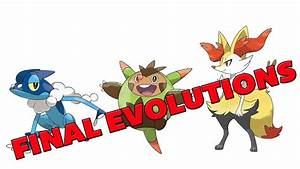 Pokemon X and Y Starter's Final Evolution Leaks! Chespin ...