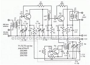 Sensitive Fm Radio Tuner Circuit