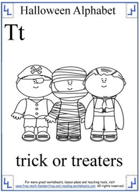 halloween coloring pages halloween alphabet