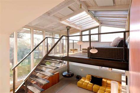 dream holiday home design  loft  glass ceiling modern house designs