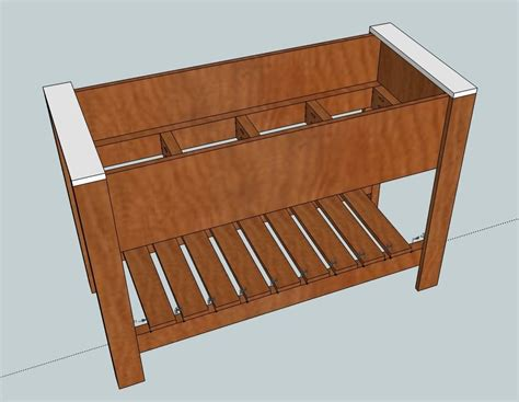 ana white build  raised planter box   easy diy