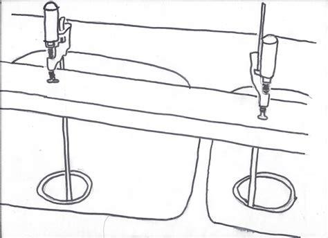 kitchen sink mounting hardware kitchen how to install undermount sink at modern kitchen
