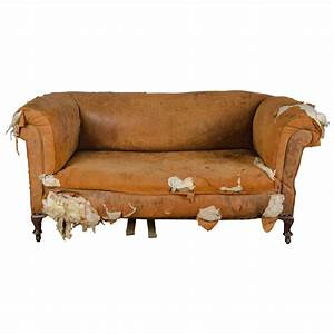 Sofa Vintage Leder : antique distressed victorian drop end leather sofa at 1stdibs ~ Indierocktalk.com Haus und Dekorationen
