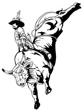 bull riding drawings - Google Search | Bull riding, Bull skull tattoos, Cowboy pictures