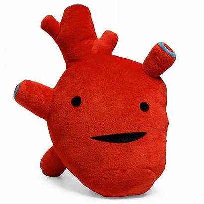 Heart Plush Gift Guts Valentines Toy Funny