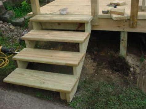 build   ground pool deck steps part