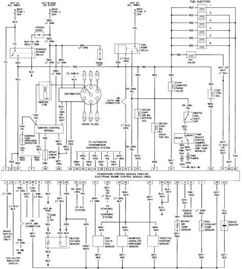 89 Ford F 150 Radio Wiring Diagram by Ignition Wiring Diagram For 2005 Ford F150 Wiring Diagram