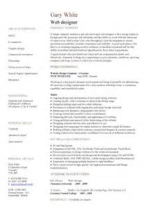 design your resume for the web web developer resume exle cv designer template development website
