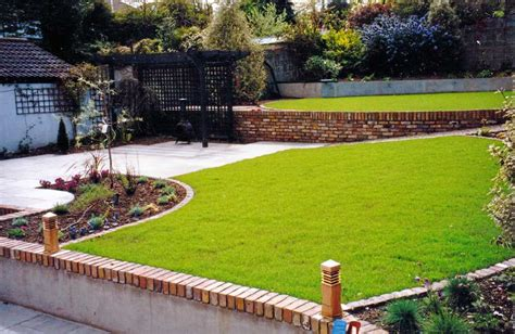 Walled Home With Wow Factor by Raised Beds Terracing Serenity Landscaping Kent