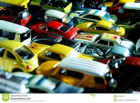Different Types And Colors Of Toy Cars Editorial Image