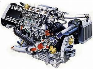 Cutaway H Engine
