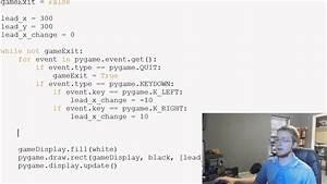 Pygame (Python Game Development) Tutorial - 8 - Moving ...