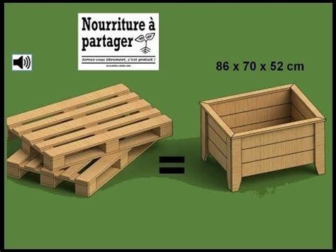 tuto fabriquer un bac 224 jardiner en bois de palette gt test 233 attention il est tr 232 s difficile