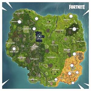 Updated Rift Locations In Fortnite Battle Royale For