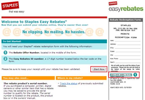 staples easy rebates step by step guide travel with grant