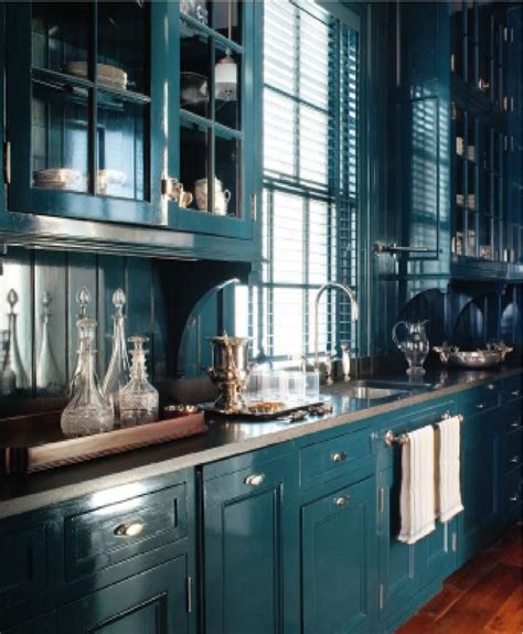 light teal kitchen cabinets revive design