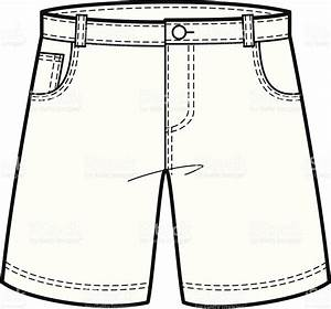 Denim clipart black and white - Pencil and in color denim ...