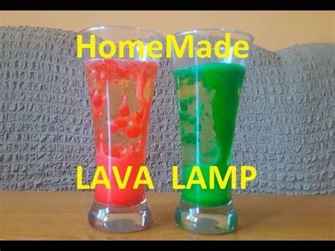 homemade lava l science experiment homemade lava lamp science experiment for kids youtube