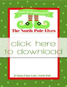 Free Printable Elf On the Shelf Letter Head